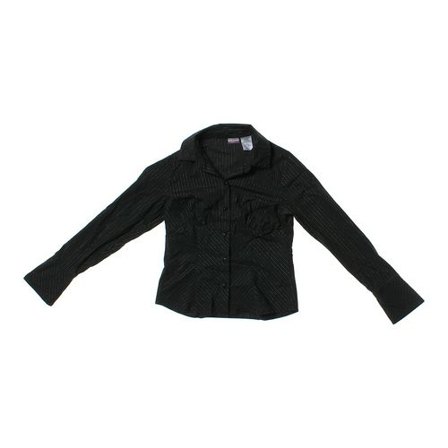 No Boundaries Striped Button-up Shirt in size JR 7 at up to 95% Off - Swap.com