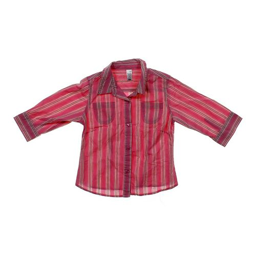 Old Navy Striped Button-up Shirt in size 6 at up to 95% Off - Swap.com