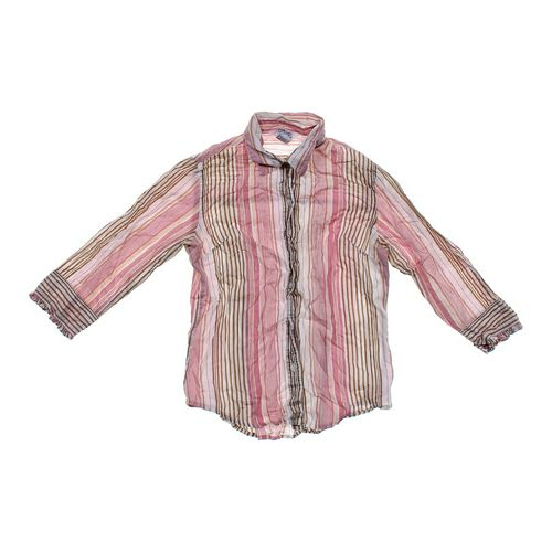 Tramp Striped Button-up Shirt in size JR 3 at up to 95% Off - Swap.com