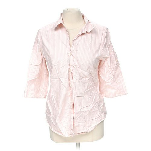 Gap Striped Button-up Shirt in size M at up to 95% Off - Swap.com