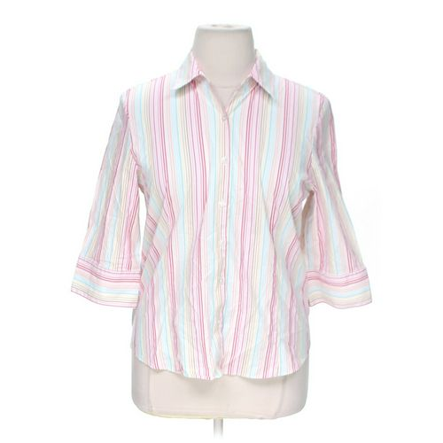 GEORGE Striped Button-up Shirt in size XL at up to 95% Off - Swap.com