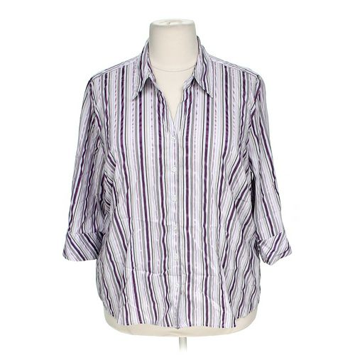 Gitano Striped Button-up Shirt in size 26 at up to 95% Off - Swap.com