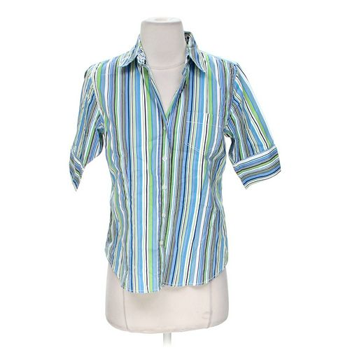 HANNAH Striped Button-up Shirt in size S at up to 95% Off - Swap.com