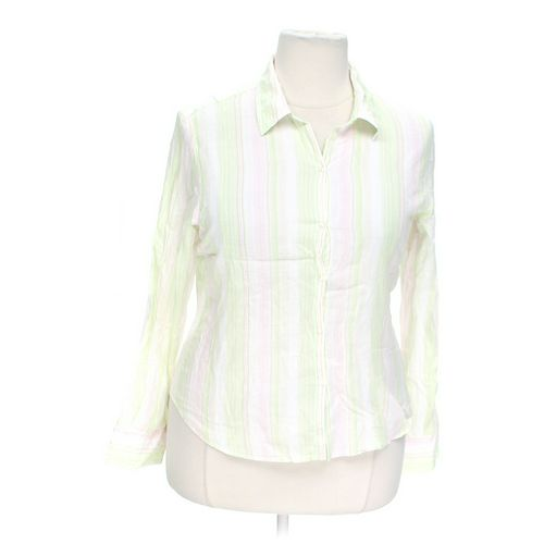 Maurices Striped Button-up Shirt in size XXL at up to 95% Off - Swap.com