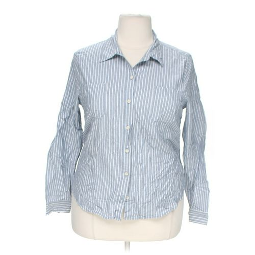 Mossimo Supply Co. Striped Button-Up Shirt in size XXL at up to 95% Off - Swap.com