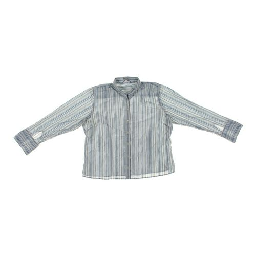 Old Navy Striped Button-up Shirt in size 2X at up to 95% Off - Swap.com