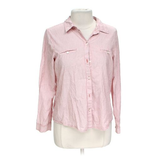 Old Navy Striped Button-up Shirt in size L at up to 95% Off - Swap.com