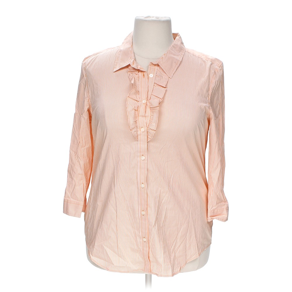 Old Navy Striped Button Up Shirt Online Consignment