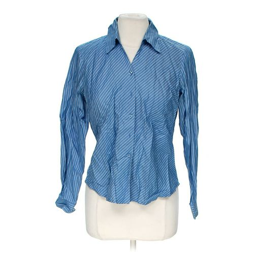 Talbots Striped Button-up Shirt in size 10 at up to 95% Off - Swap.com