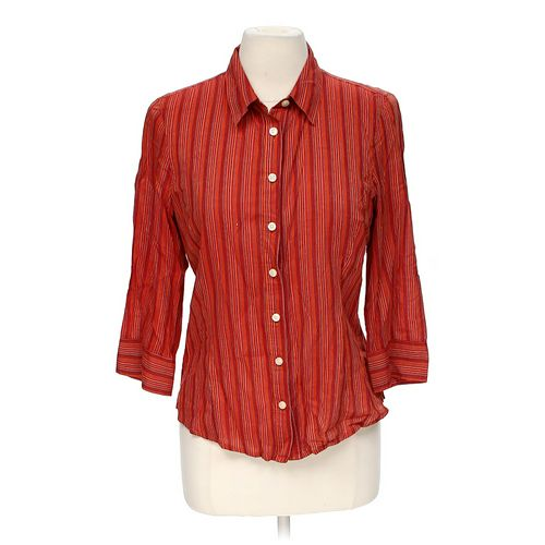 Talbots Striped Button-up Shirt in size S at up to 95% Off - Swap.com