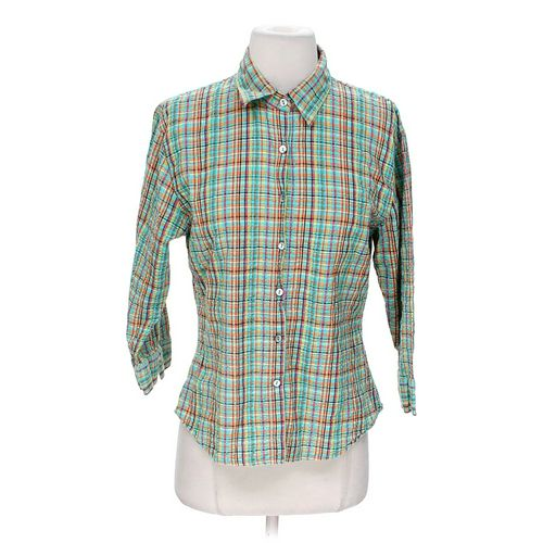 Territory Ahead Striped Button-up Shirt in size M at up to 95% Off - Swap.com