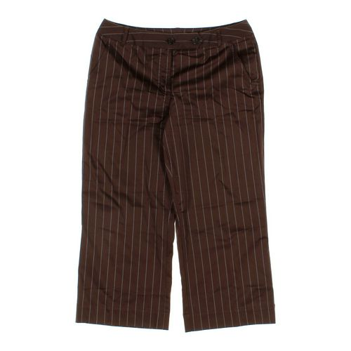 Worthington Striped Capri Pants in size 10 at up to 95% Off - Swap.com