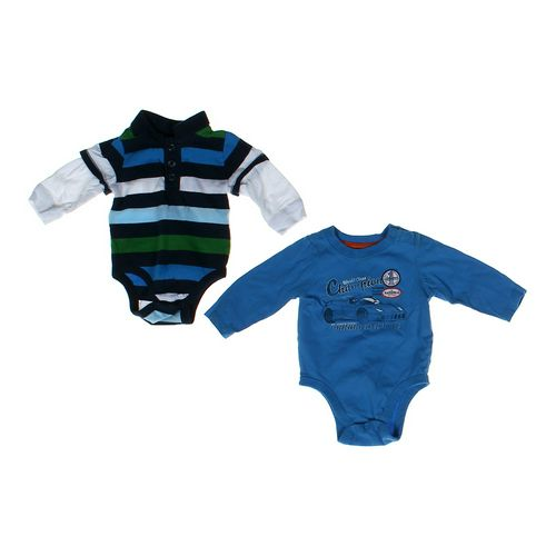 Old Navy Striped & Car Bodysuit Set in size 3 mo at up to 95% Off - Swap.com