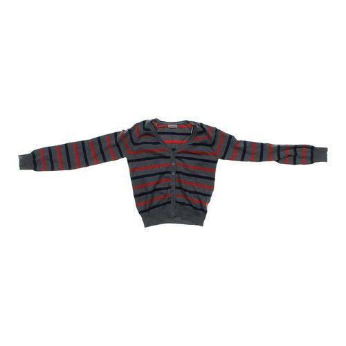 Ambiance Apparel Striped Cardigan in size JR 3 at up to 95% Off - Swap.com