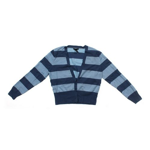 New York & Company Striped Cardigan in size JR 13 at up to 95% Off - Swap.com