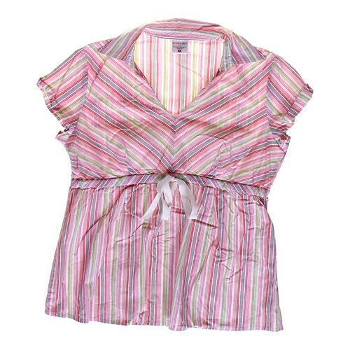 Motherhood Maternity Striped Casual Maternity Shirt in size M (8-10) at up to 95% Off - Swap.com