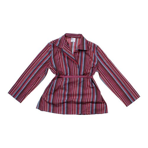 Motherhood Maternity Striped Casual Maternity Shirt in size S (4-6) at up to 95% Off - Swap.com