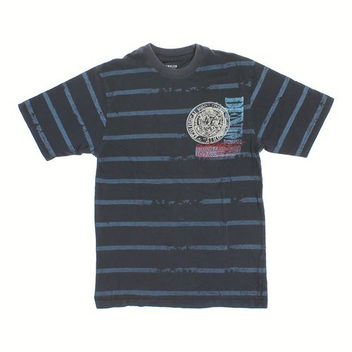 Wrangler Striped Cotton T-shirt in size 14 at up to 95% Off - Swap.com