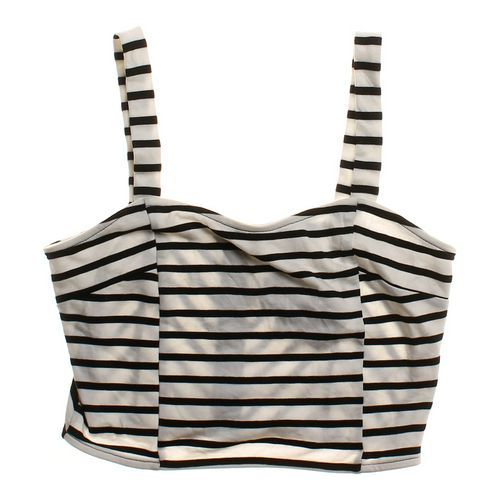 Soprano Striped Crop Tank in size M at up to 95% Off - Swap.com