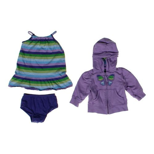 babyGap Striped Dress & Butterfly Hoodie in size 12 mo at up to 95% Off - Swap.com