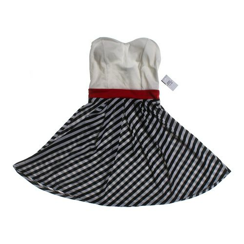 Body Central Striped Dress in size JR 3 at up to 95% Off - Swap.com