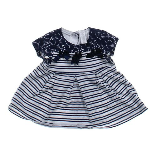 First Impressions Striped Dress in size 6 mo at up to 95% Off - Swap.com