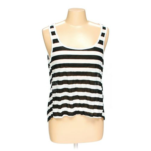 Body Central Striped Fashionable Tank Top in size L at up to 95% Off - Swap.com