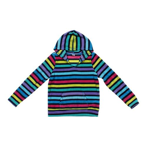 The Children's Place Striped Fleece Hoodie in size 10 at up to 95% Off - Swap.com