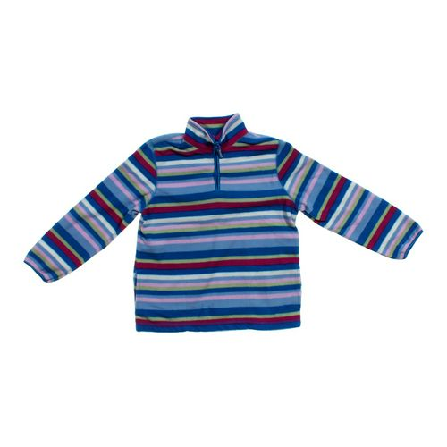 The Children's Place Striped Fleece Sweatshirt in size 7 at up to 95% Off - Swap.com