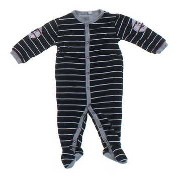 Striped Footed Jumpsuit for Sale on Swap.com
