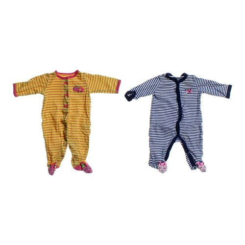 Carter's Striped Footed Pajamas Set in size 3 mo at up to 95% Off - Swap.com