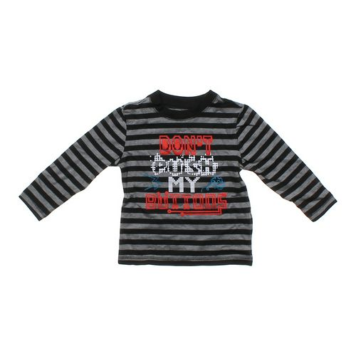 WonderKids Striped Graphic Tee in size 3/3T at up to 95% Off - Swap.com
