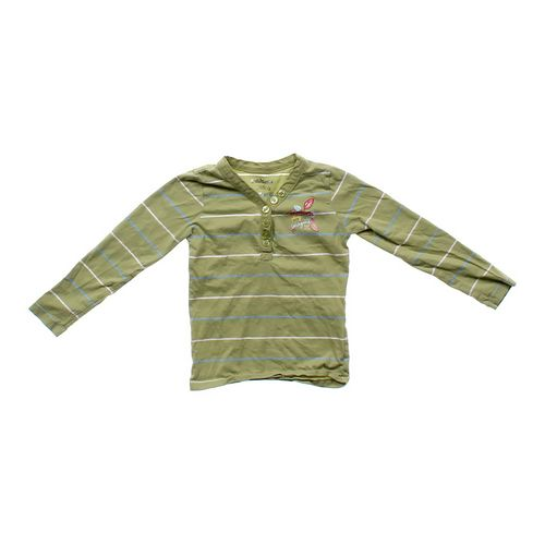 OshKosh B'gosh Striped Henley in size 6 at up to 95% Off - Swap.com