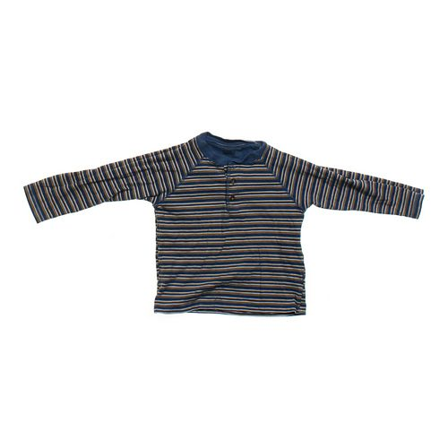Faded Glory Striped Henley Shirt in size 4/4T at up to 95% Off - Swap.com