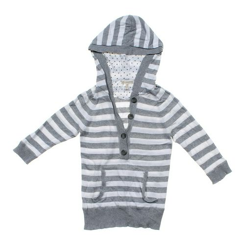 Aéropostale Striped Hooded Sweater in size JR 7 at up to 95% Off - Swap.com