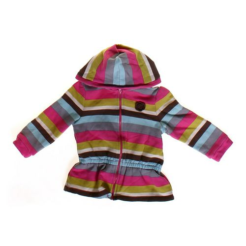 Genuine Kids from OshKosh Striped Hoodie in size 18 mo at up to 95% Off - Swap.com