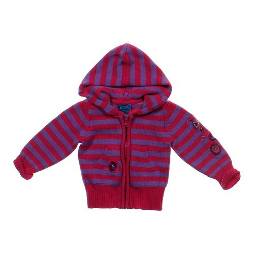 The Children's Place Striped Hoodie in size 24 mo at up to 95% Off - Swap.com