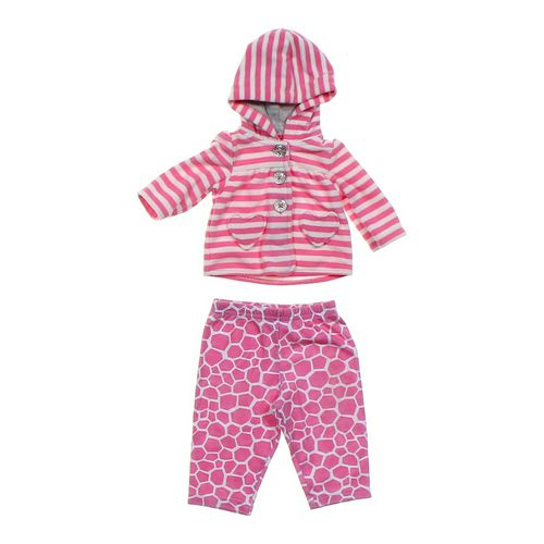 Carter's Striped Hoodie & Giraffe Pants in size NB at up to 95% Off - Swap.com