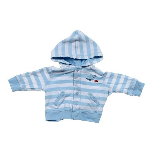 Carter's Striped Hoodie Jacket in size 3 mo at up to 95% Off - Swap.com