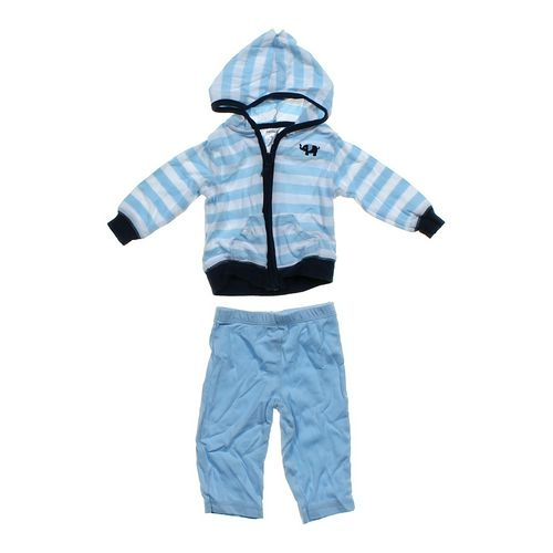 Carter's Striped Hoodie & Pants Set in size 6 mo at up to 95% Off - Swap.com
