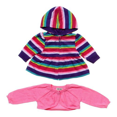 Garanimals Striped Hoodie & Shrug Set in size NB at up to 95% Off - Swap.com