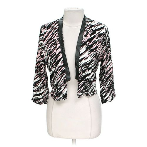 Body Central Striped Jacket in size L at up to 95% Off - Swap.com