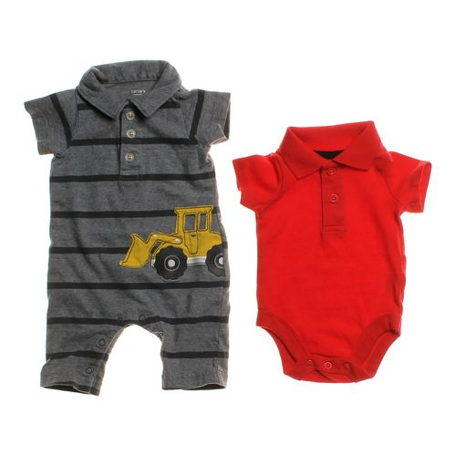 Carter's Striped Jumpsuit & Bodysuit Set in size NB at up to 95% Off - Swap.com