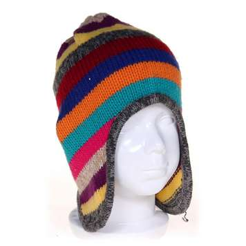 Striped Knit Hat for Sale on Swap.com