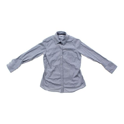 Mimi Maternity Striped Maternity Button-up in size S at up to 95% Off - Swap.com