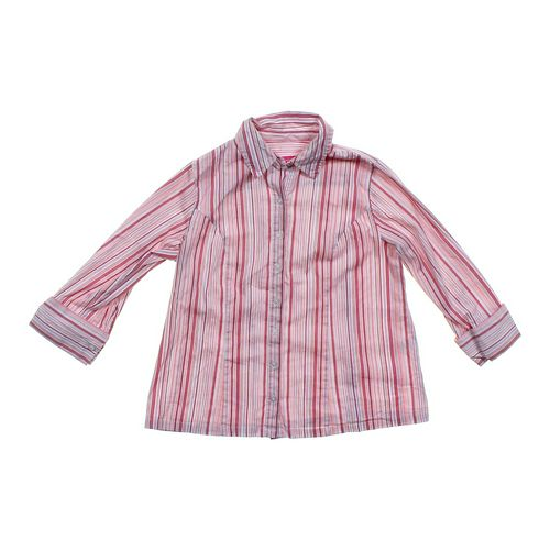 Liz Lange Maternity Striped Maternity Button-up in size S (4-6) at up to 95% Off - Swap.com