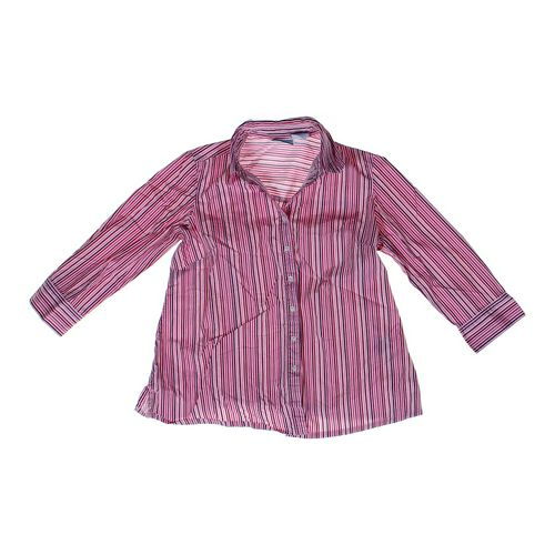 Annoumcements Striped Maternity Shirt in size S (4-6) at up to 95% Off - Swap.com