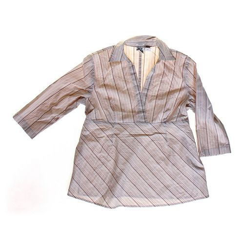 duo Maternity Striped Maternity Shirt in size M (8-10) at up to 95% Off - Swap.com