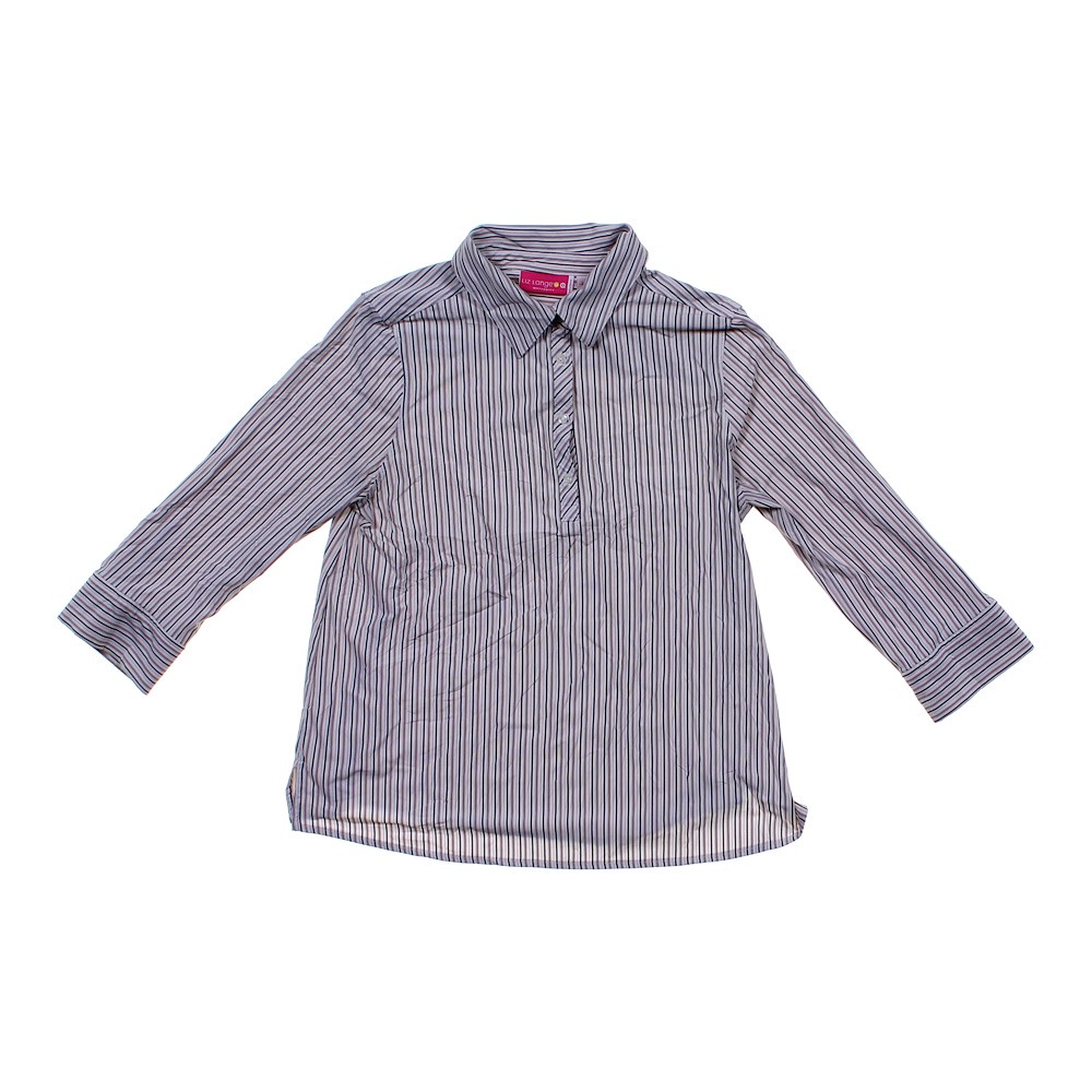 5ac556d3e66d3 Liz Lange Maternity Striped Maternity Shirt in size L (12-14) at up