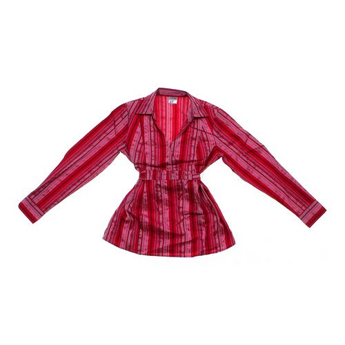 Motherhood Maternity Striped Maternity Shirt in size S (4-6) at up to 95% Off - Swap.com